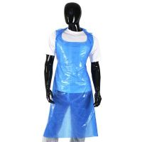 Blue Disposable Aprons ( 200 Pack)